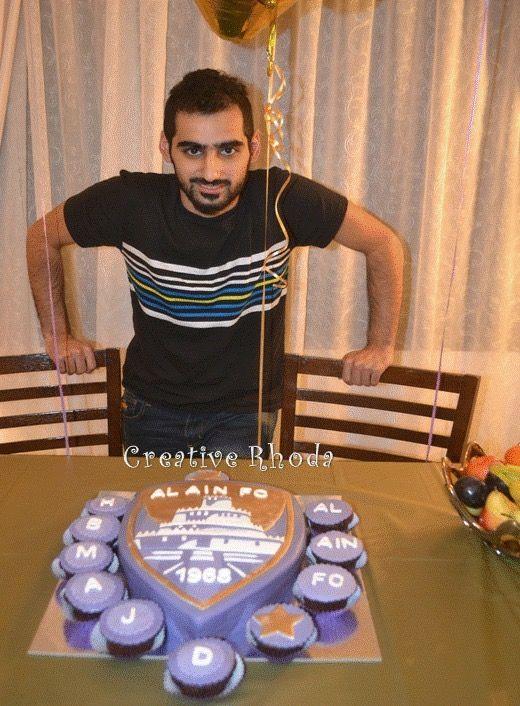 Al Ain fc Cake made by Rhoda