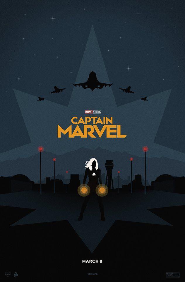 Capitana Marvel Poster Marvel Avengers Movies Marvel Movie Posters Marvel Posters
