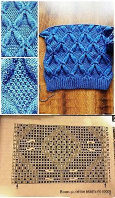 Красивый узор спицами схема. Красивые узоры вязания спицами схемами | Домоводство для всей семьи