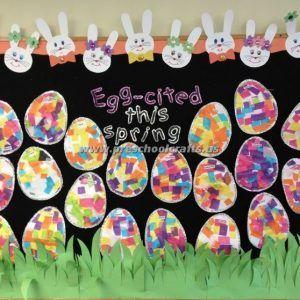 Easter Bulletin Boards for Kids – Preschool and Kindergarten