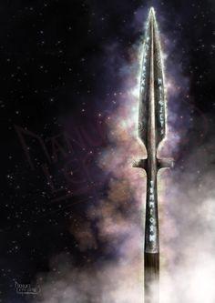 Gungnir - La lance d'Odin / Gungnir the Odin's spear - http://www.skiold.fr  Mlle Bulle: This is my partner's artwork :)