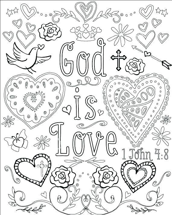 Image Result For Bible Verse Coloring Pages Kjv Color Page Frames
