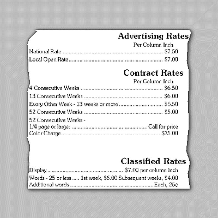 Understanding Advertising Rate Cards: Open Rates and Bulk Space Contracts