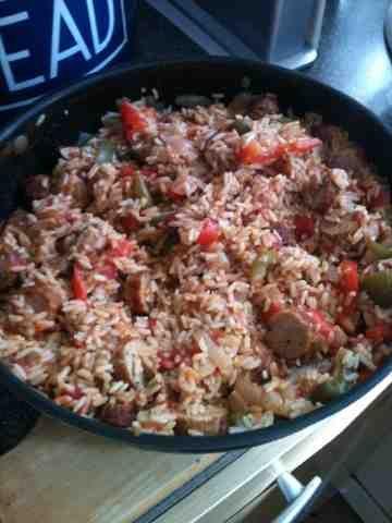 Vicki-Kitchen: Jambalaya (slimming world friendly)