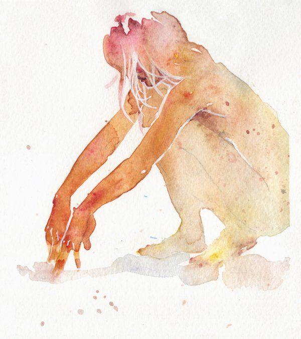 Watercolor #agnescecile