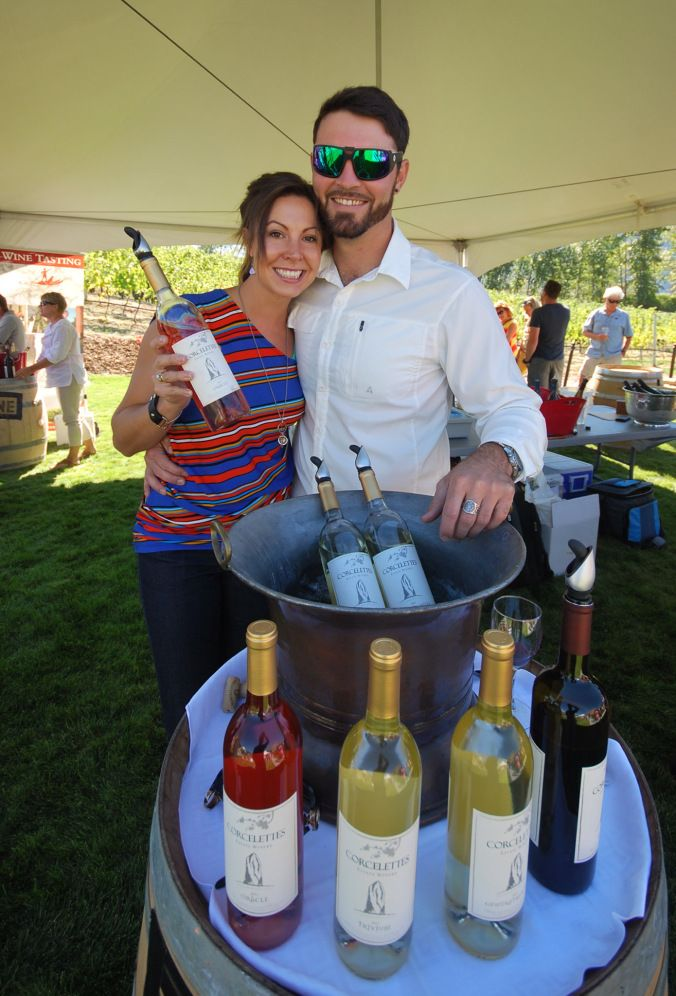 Jesce and Charlie from Corcelettes are now moving to the location of the Herder Winery on Upper Bench Road in Keremeos.