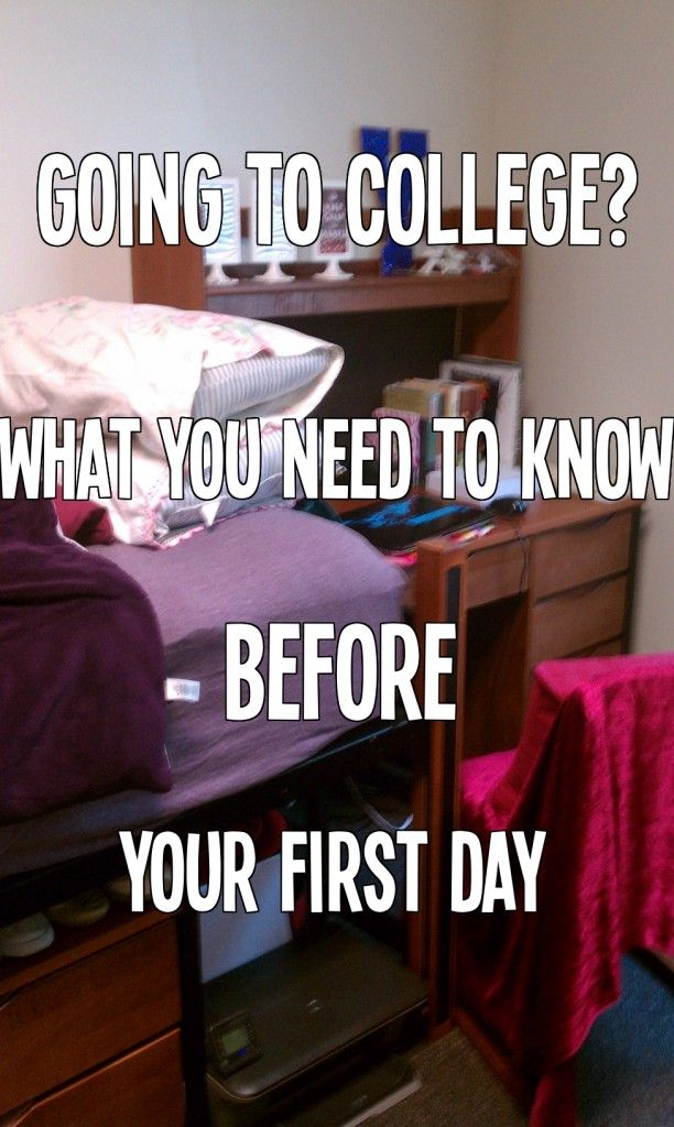 All you need to know before you start your freshman year. Including tips to avoid the freshman 15!