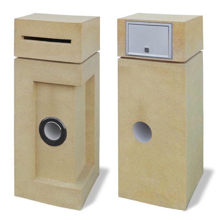 Milkcan Letterbox Co. Laguna Sandstone Pier Letterbox $250