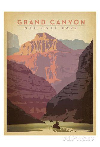 Parc national du Grand Canyon Reproduction artistiques