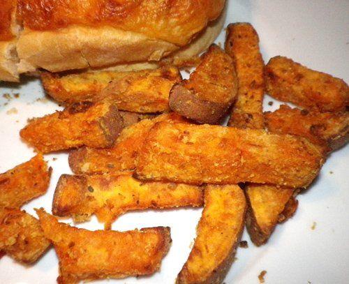 Sweet Potato Fries (Actifry) Recipe - Recipezazz.com