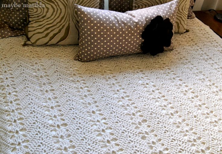 Crochet Blanket Patterns For Queen Size Bed