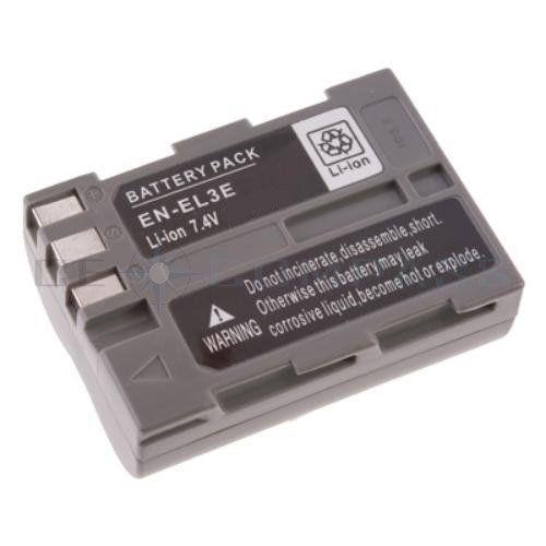 Batterie haute performance 1800 mah avec info chip pour Nikon D50, D70, D70s, D80, D90, D100, D200, D300, D300s D700 - similaire à EN-EL3e Accu Battery #Batterie #haute #performance #avec #info #chip #pour #Nikon #similaire #Accu #Battery