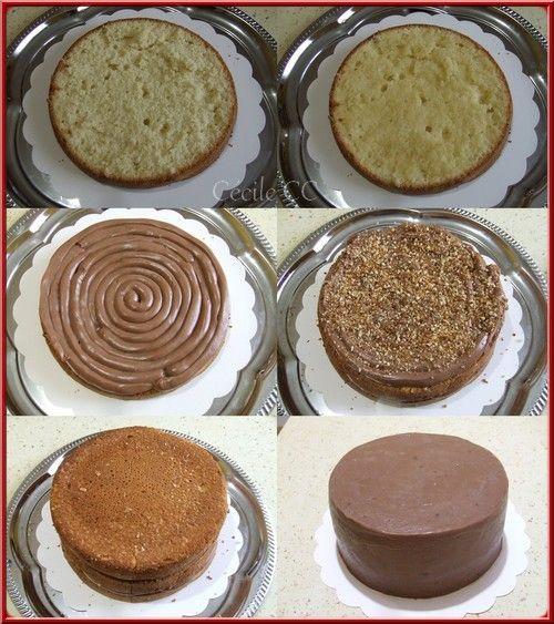 Recette Ganache Nutella Pour Cake Design : Best 25+ Recette genoise ideas on Pinterest Recette de ...