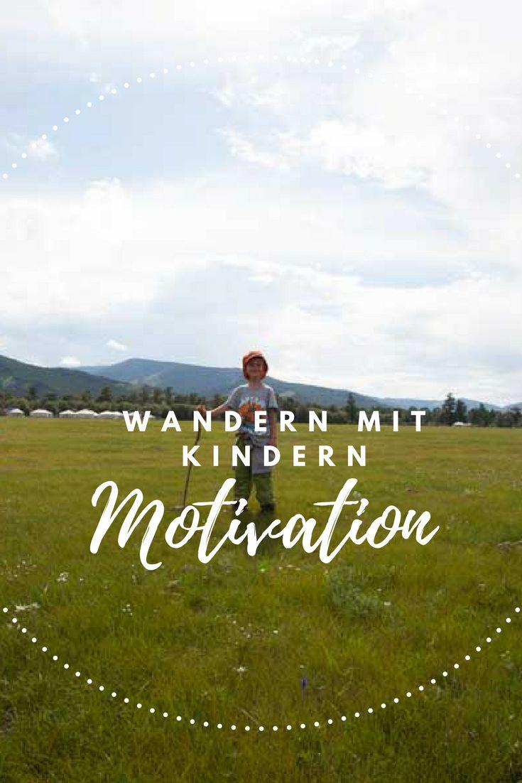 Wandern mit Kindern – Tipps für die Motivation. #kinder #wandern #wanderlust
