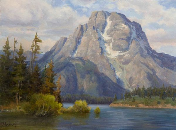 Mountain Landscape Painting How To Budget Your Canvas