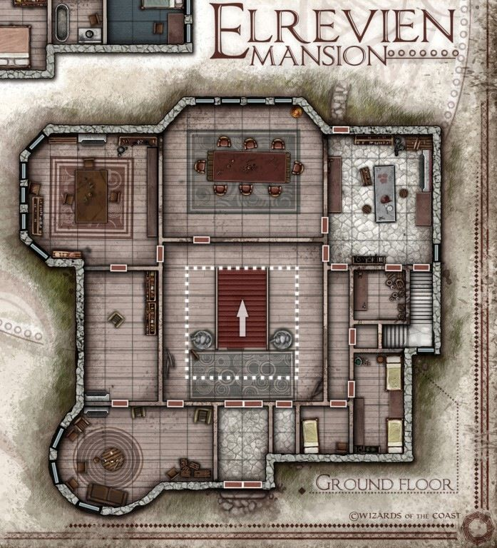 438 best images about d d maps on pinterest for d city for Floor 2 dungeon map