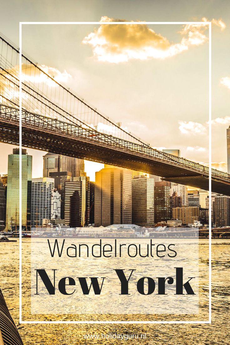 2 wandelroutes voor New York – ontdek Manhattan te voet!