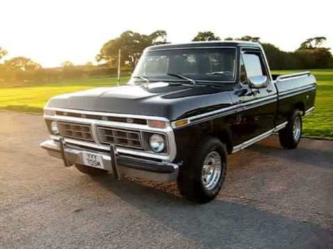 1974 Ford F100 Ranger Pick-Up Truck (302cid V-8)