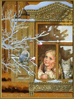 Η Νατα...Λίνα στο Νηπιαγωγείο: Χειμώνας