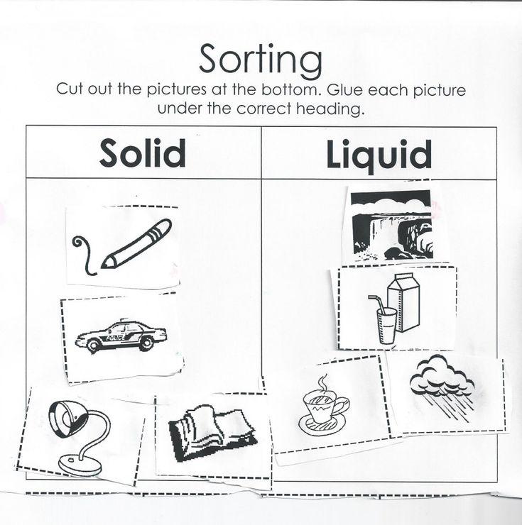 50 best Solids, Liquids & Gases Lesson Plan Ideas images