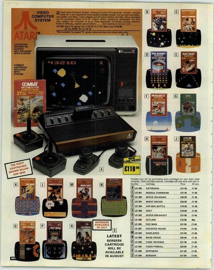 Atari 2600 Video Game System Ad