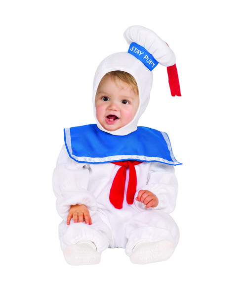 Why not dress your little 'ghoul' up as such and get some recognition? Plush white romper, hood with attached sailor hat. The Stay Puft Marshmallow Man Ghostbusters Toddler costume is a great Throwback to the classic Ghostbusters films. It makes for a fun Halloween costume for your little one. #yyc #Calgary #costume #GhostBusters #ghoul #whoyougonnacall
