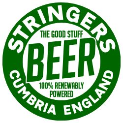 Stringers Beer - 100% renewably powered!