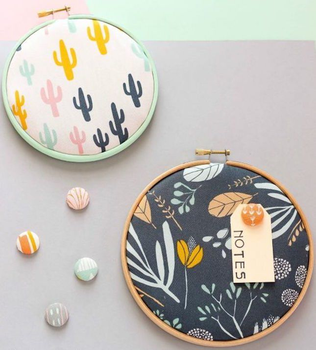12 Embroidery Hoop Crafts That Don't Involve a Needle and Thread | Brit + Co