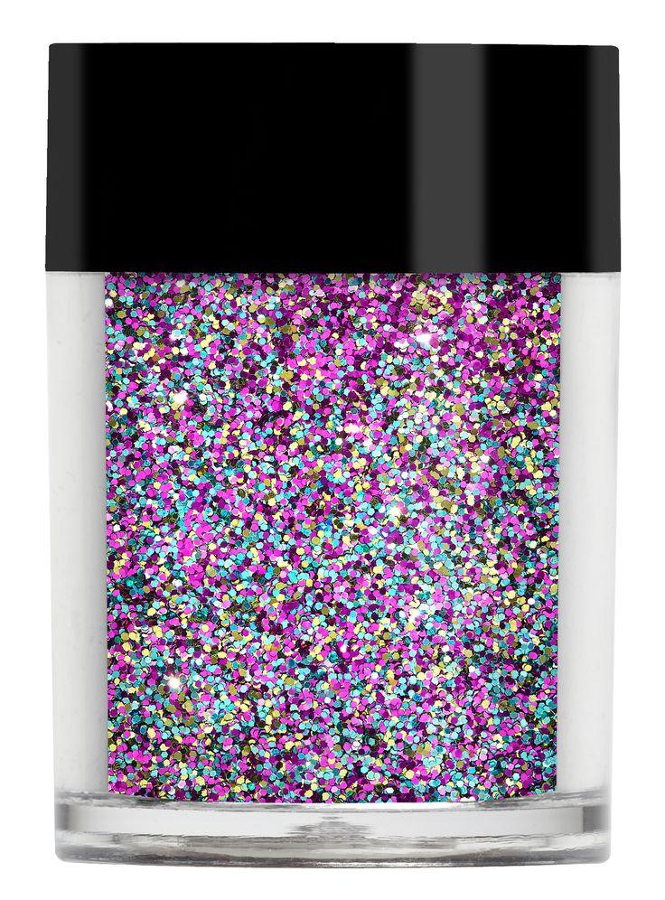 Foxy Multi Glitz #glitter #rainbow #pink #blue #nails #nailart