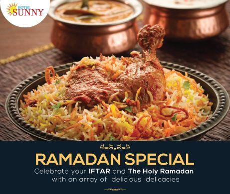 Celebrate your IFTAR and The Holy Ramadan with an array of delicious delicacies... ORDER ONLINE & GET 10% OFF Website - www.hotelsunny.in For reservation:2522-5616/3549  #hotelsunny #tasteofmumbai #offer #keralafood #tasteofkerala #mumbai #mymumbai #food #foodie #yum #yummy #orderonline #homedelivery #delivery #fooddelivery #mouthwatering #relish #bandra #dadar #kurla #bkc #lunch #foodporn #chickenbiryani #ramadan2017 #ramadankareem #IFTAR #TheHolyRamadan