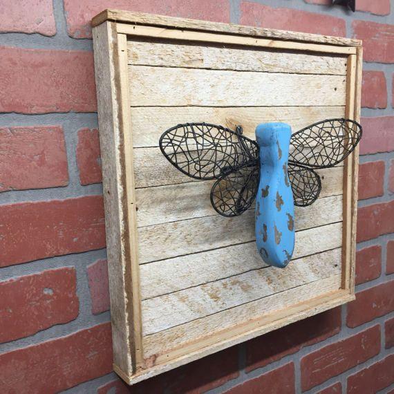 Dragonfly Rustic Dragonfly Dragonfly Decor by CraftsbyDerek