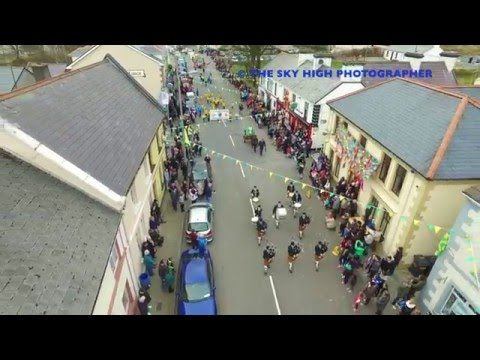 Carrick - St  Patrick's Day 2016 (Aerial Video)