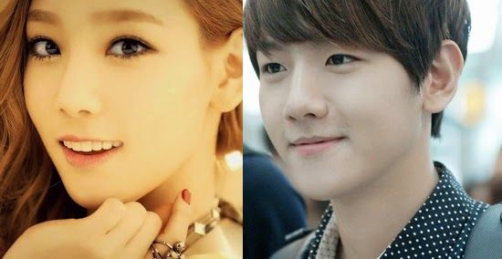 Entertainment Korea: Hot Topic | SNSD's Taeyeon and EXO's BaekHyun Are Officially Dating!