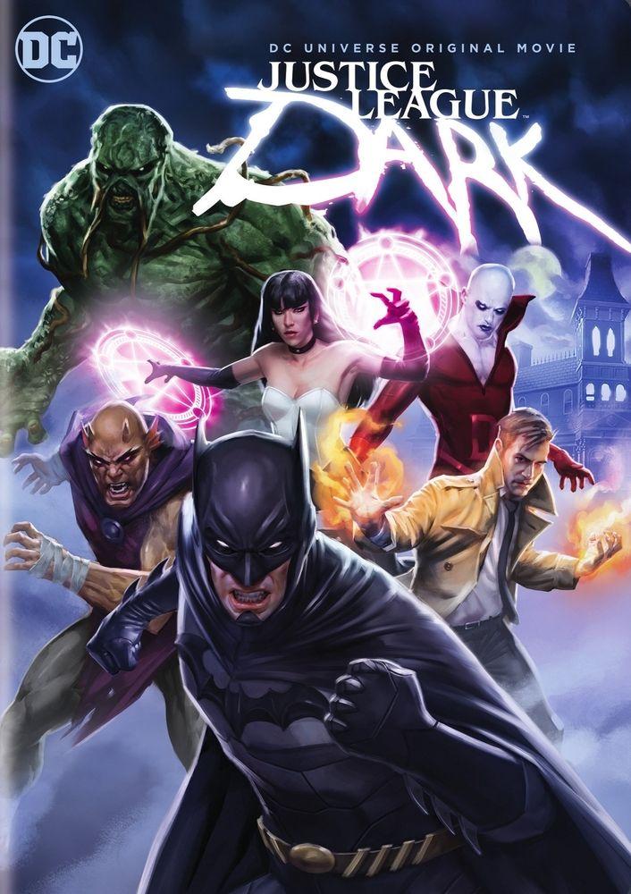 Justice League Dark Dvd 2017 Best Buy Justice League Dark Movie Justice League Dark Avengers Vs Justice League