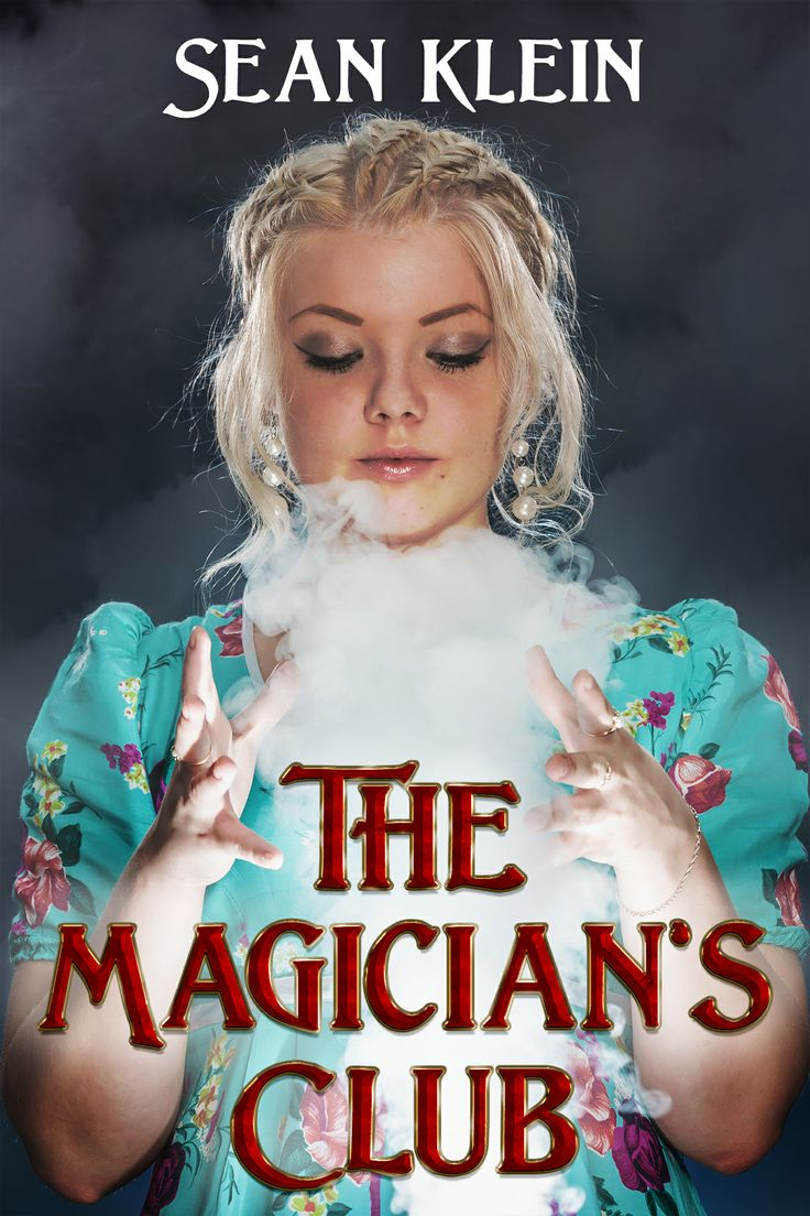Front cover for The Magician's Club, by my friend and Clarion West classmate, Sean Klein
