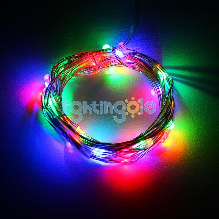 22 best christmas lights images on pinterest christmas tree 40 led 4m13ft battery operated string lights xmas wedding party holiday decor aloadofball Images