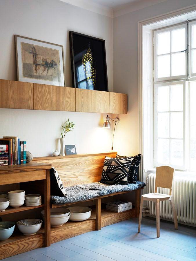 В укромном уголке: каким может быть диванчик на кухне – Вдохновение