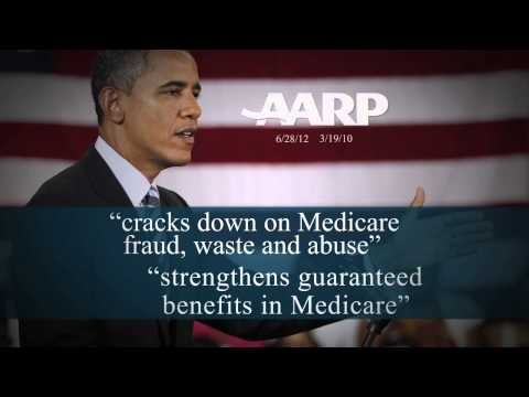 """Facts"" - Obama for America TV Ad on Medicare"