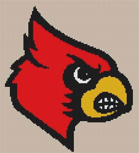 Louisville Cardinals Standard Cross Stitch Kit by ...