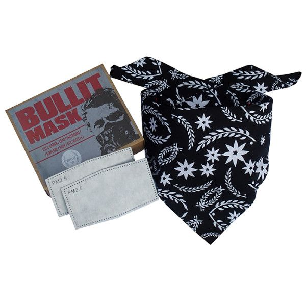Bullit Speed Shop Dust Mask – Dust Mask With Bandana & 2 Filters