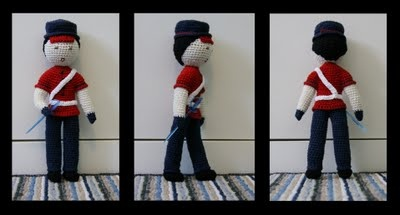 crochet soldier