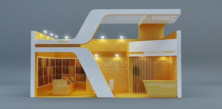 "Exhibition Stand for ""Swisspan"" designed by GM design group #exhibitionstands #exhibition #stand #booth #gmdesigngroup #gmdesign #gm #design"