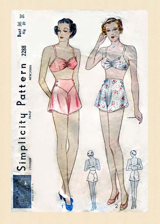 115 best images about Amazing Vintage Lingerie Patterns on ...