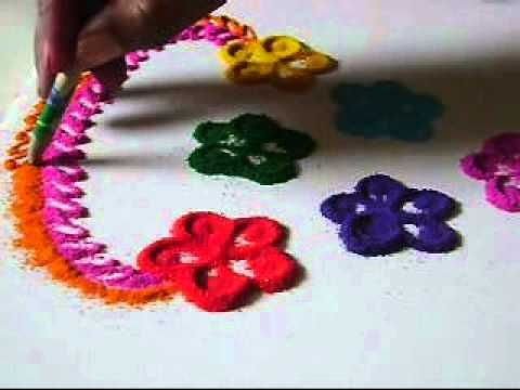 Rangoli | Rangoli Crafts For Kids | All About Rangoli