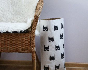 BATMAN BAT MASK Home decor peuter kraft papieren door VolpeShop