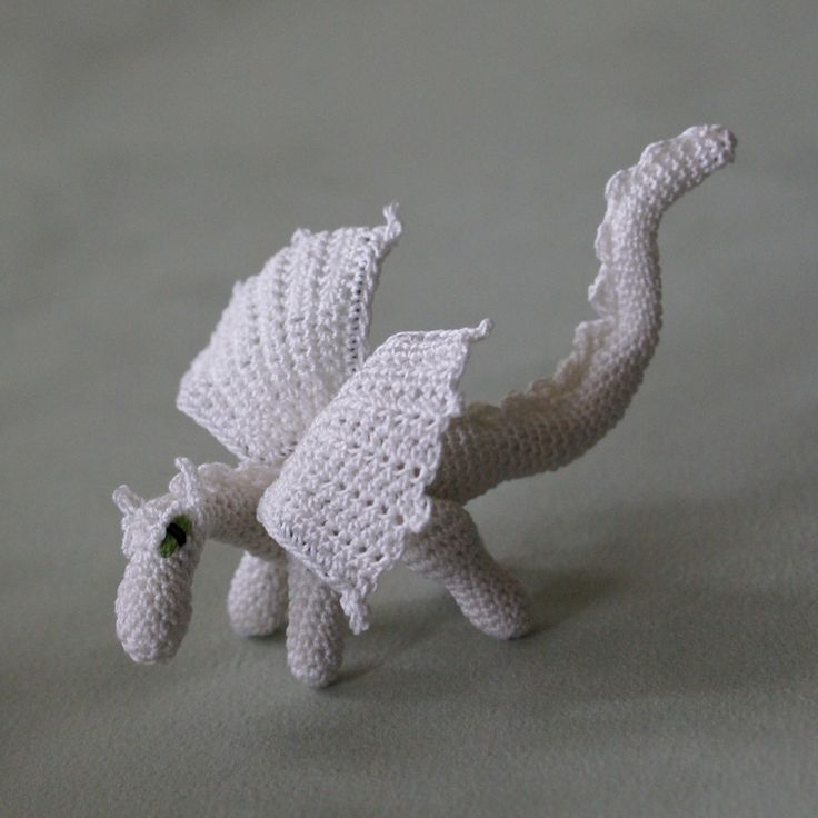 Chinese Dragon Amigurumi Pattern : Really cool dragon from lucy ravenscar s pattern