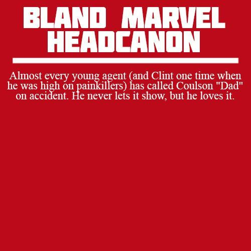 Coulson is such a Dad though... Headcanon approved.