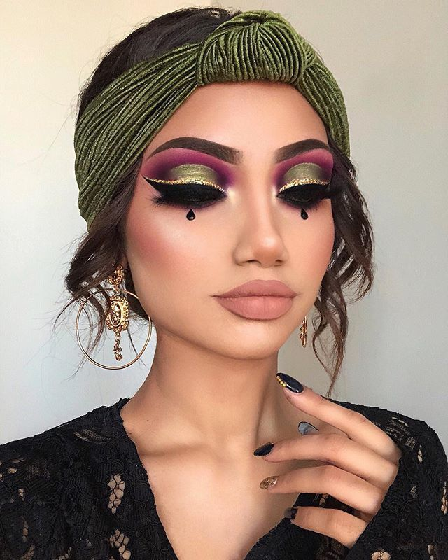 Get Easy To Understand Data And Statistics About Your Instagram Account And Make Smart Marketing Decisions With W Dramatic Makeup Makeup Halloween Makeup Looks