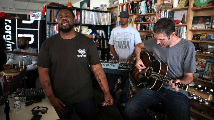 Watch the Tiny Desk turn into a church, comedy club and neo-soul spot as the band performs songs from its latest album, Love in Flying Colors.