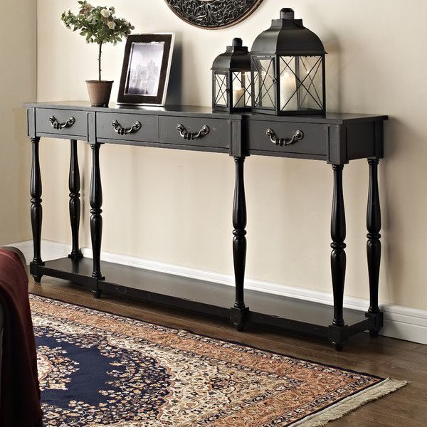 Good Shop Joss U0026 Main For Your Caroline Console Table. Add A Stylish Black  Spindled Console Table For A Classic Look.
